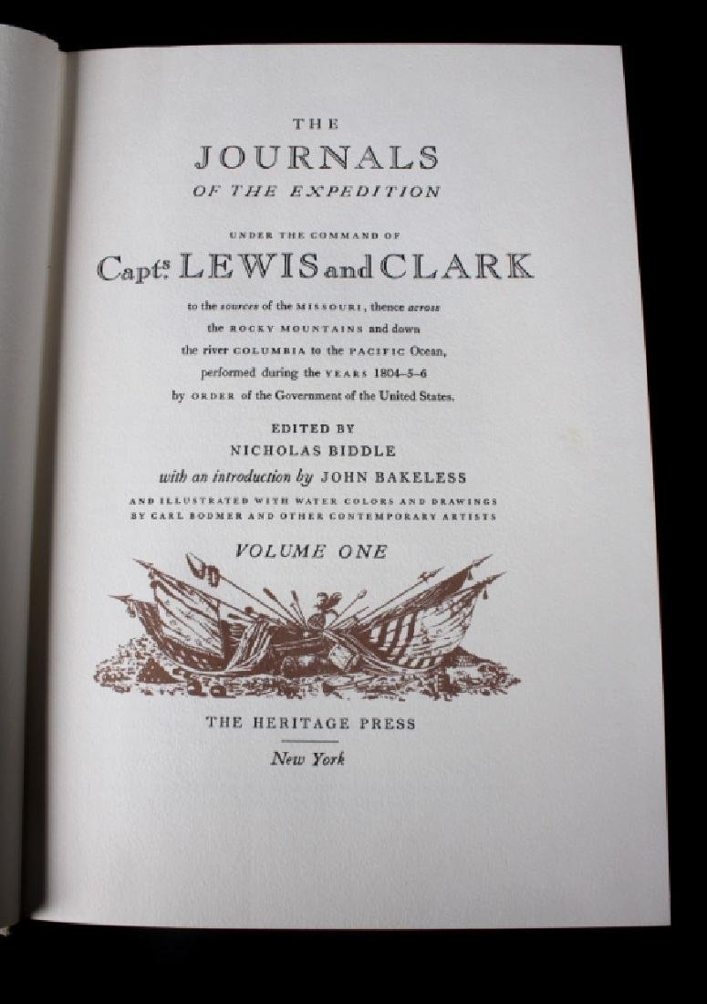 Journals of the Expedition Lewis and Clark 1st Ed - 3