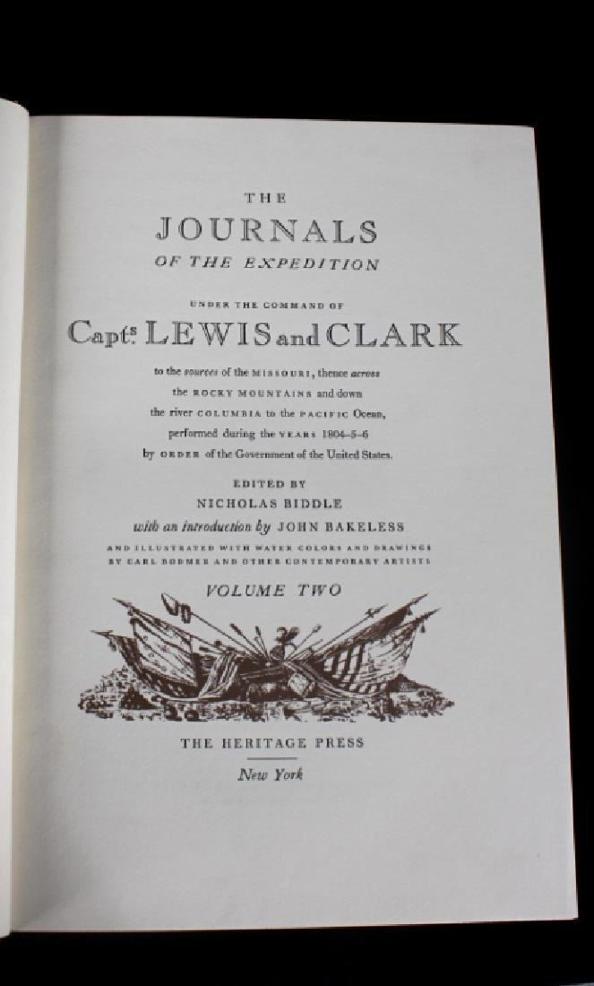 Journals of the Expedition Lewis and Clark 1st Ed - 7