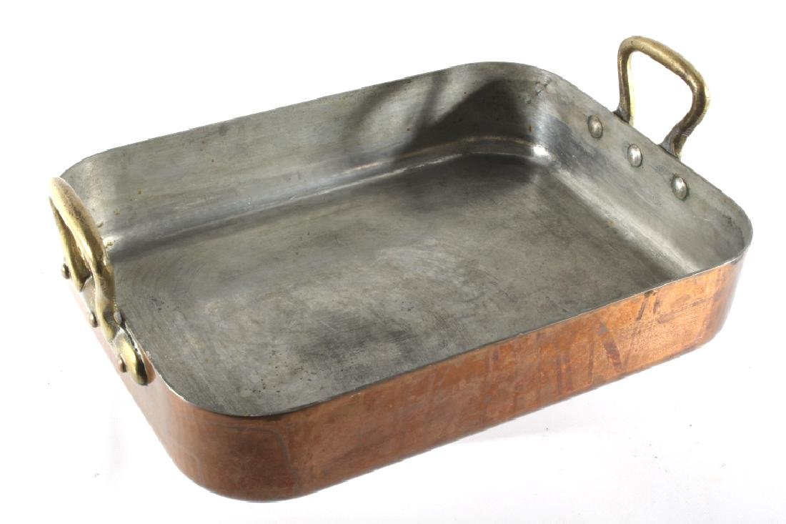 Williams Sonoma Import French Copper Roasting Pan