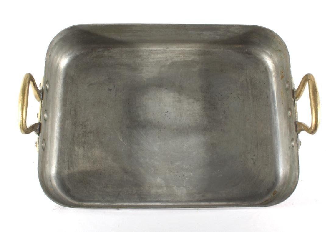 Williams Sonoma Import French Copper Roasting Pan - 5