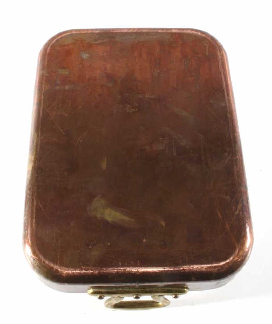 Williams Sonoma Import French Copper Roasting Pan - 6