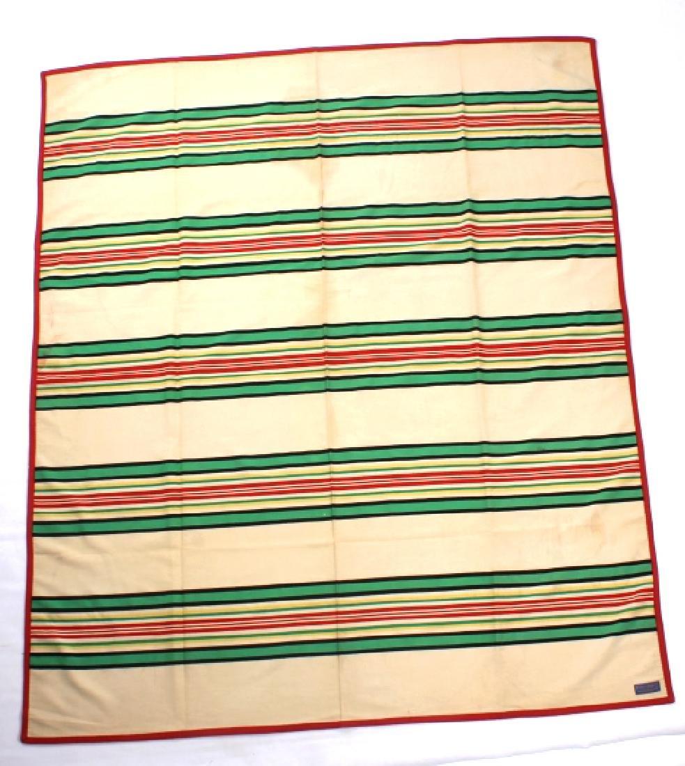 Pendleton Beaver State Wool Blanket c. 1930 - 3