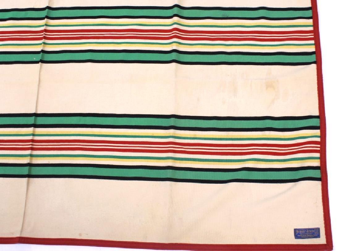 Pendleton Beaver State Wool Blanket c. 1930 - 9
