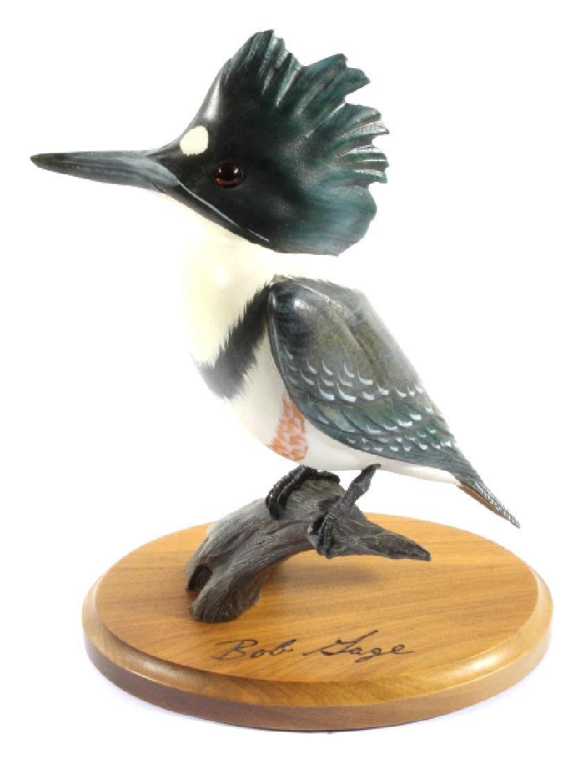 Bob Sage Big Sky Carvers Kingfisher Carving