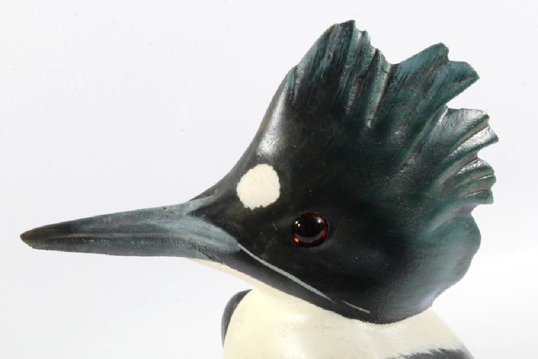 Bob Sage Big Sky Carvers Kingfisher Carving - 4