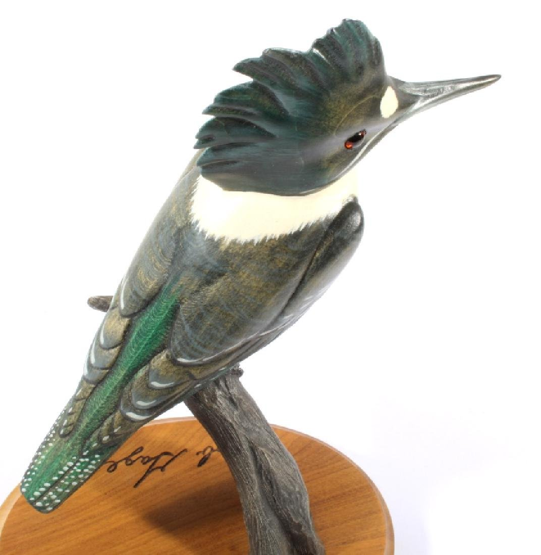 Bob Sage Big Sky Carvers Kingfisher Carving - 6