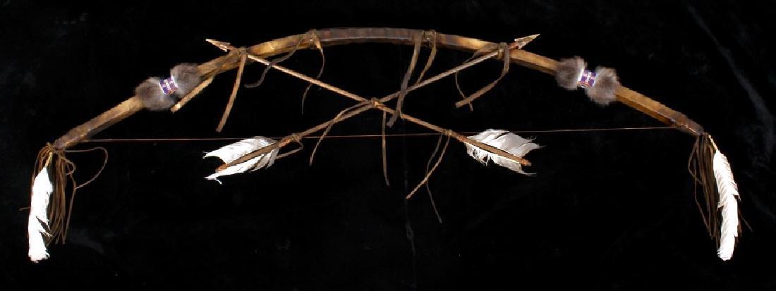 Plains Indian Bow and Arrow Wall Decor