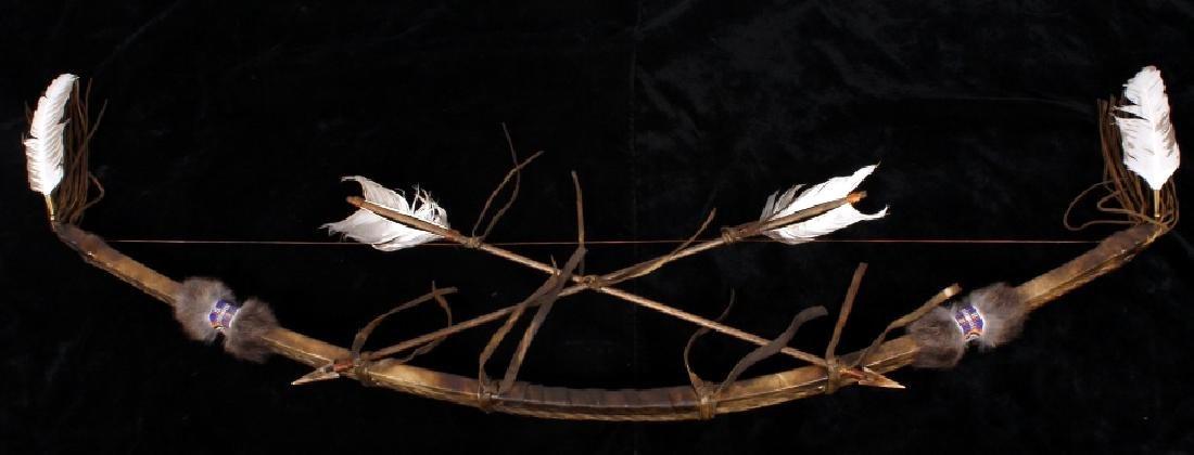 Plains Indian Bow and Arrow Wall Decor - 5