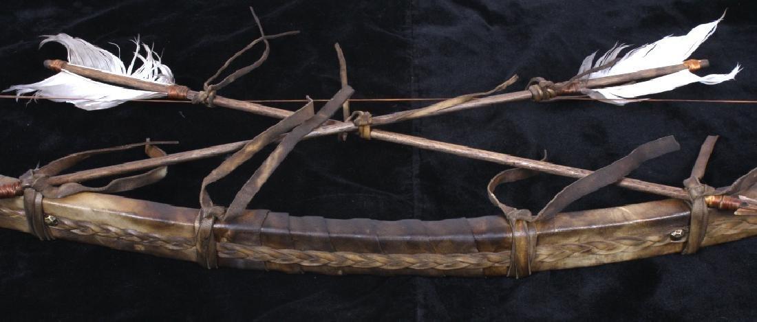 Plains Indian Bow and Arrow Wall Decor - 6