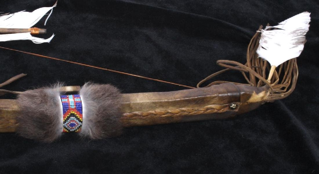 Plains Indian Bow and Arrow Wall Decor - 7