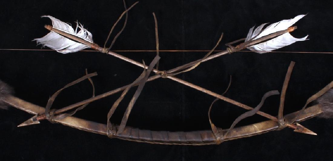 Plains Indian Bow and Arrow Wall Decor - 8