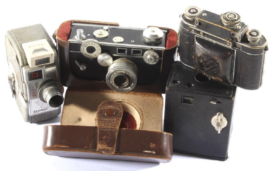 Vintage Camera Collection - Kodak, Certo, Argus