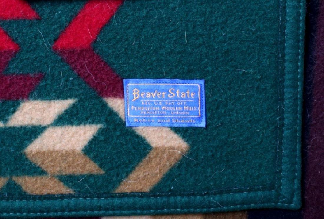 Pendleton Beaver State Two Sided Wool Blanket - 7