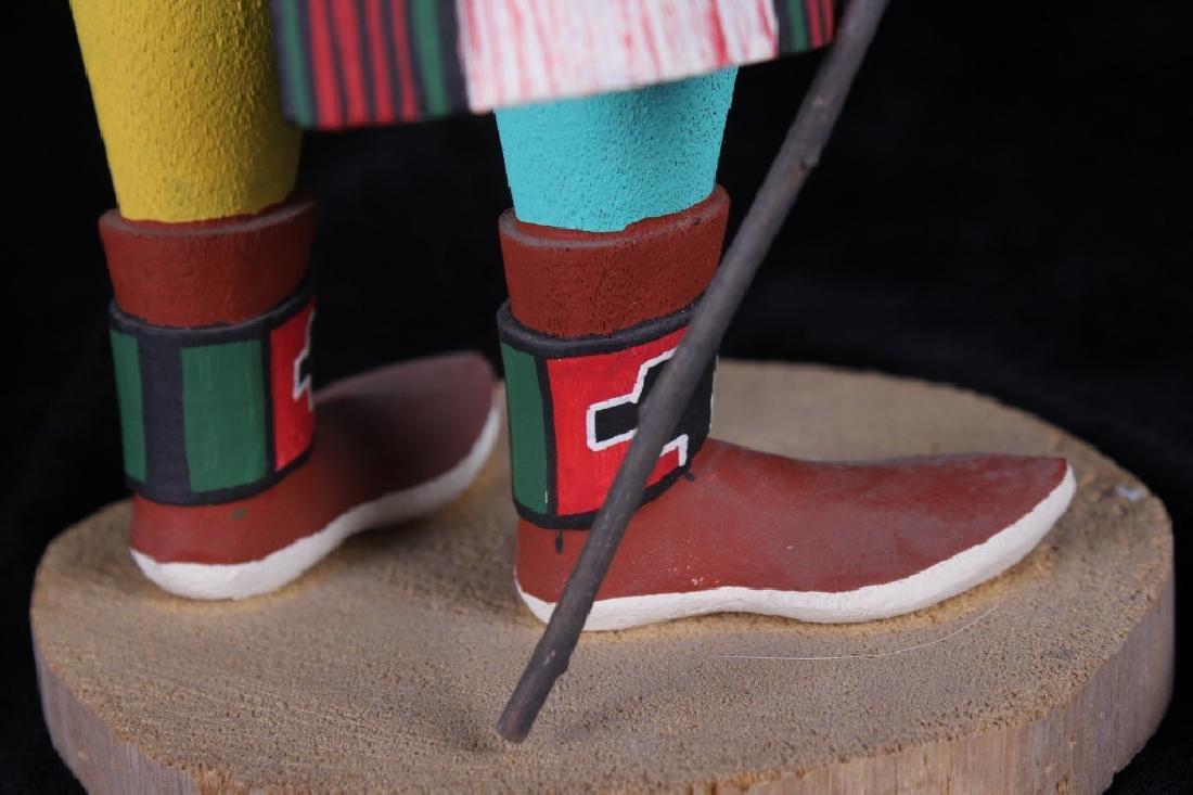 Hopi Hand Carved Signed Kachina Dolls (2) - 10