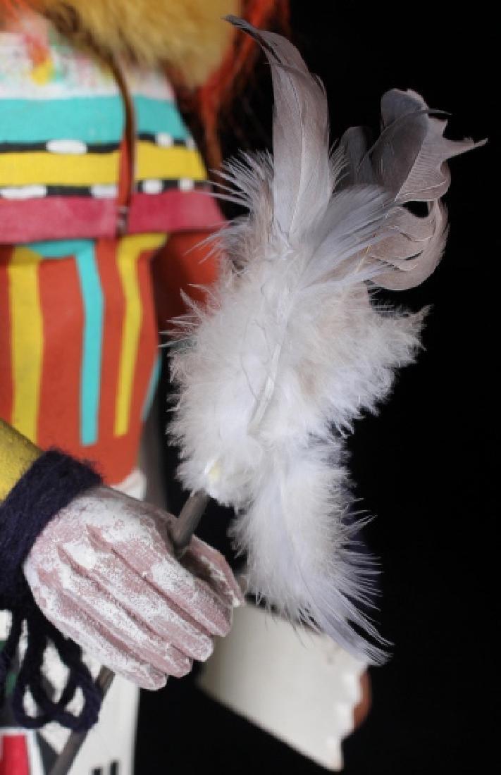 Hopi Hand Carved Signed Kachina Dolls (2) - 8