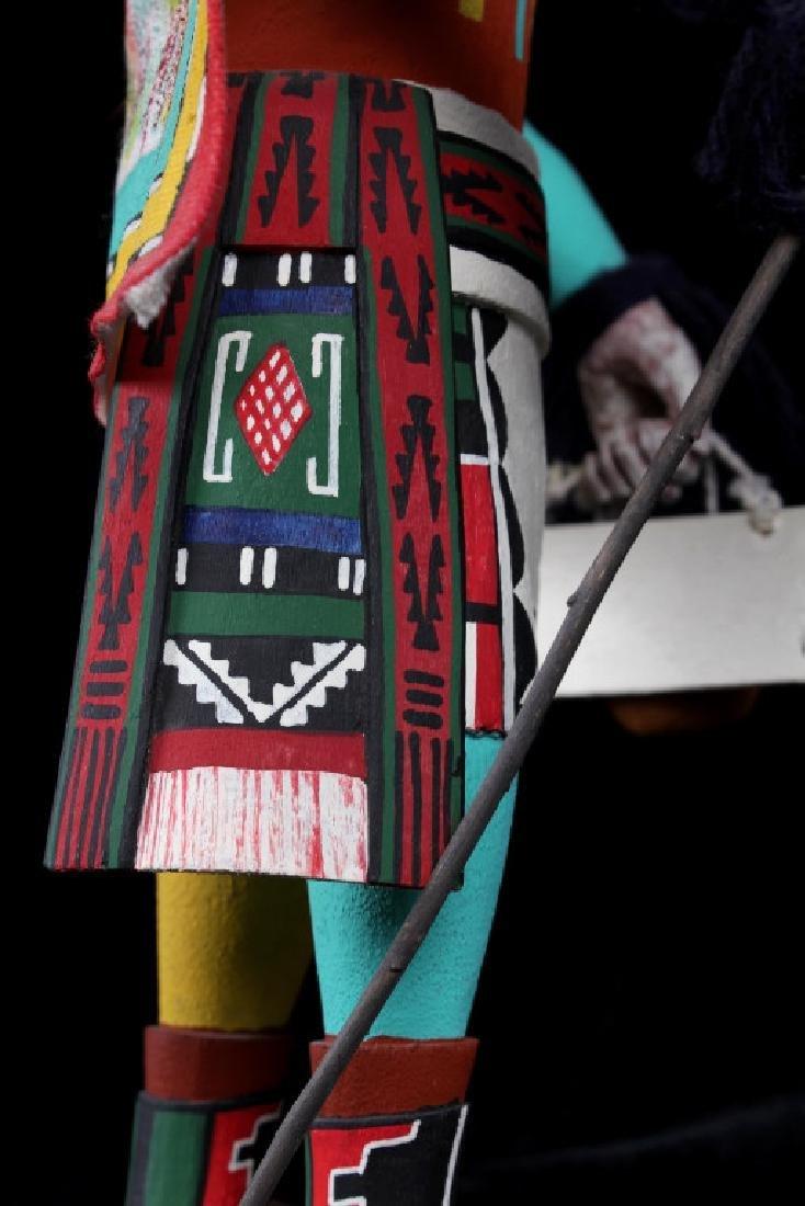 Hopi Hand Carved Signed Kachina Dolls (2) - 9