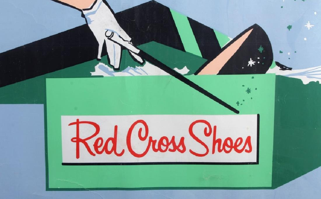 Original Red Cross Shoes Advertising Poster - 7