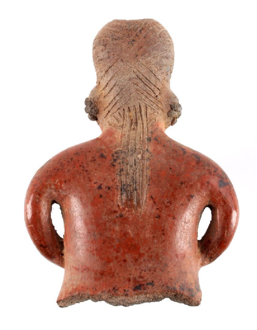 Pre-Columbian Mayan Pottery Figure circa 500 A.D. - 7