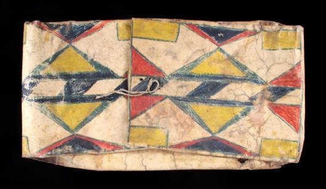 Native American Polychrome Parfleche Envelope