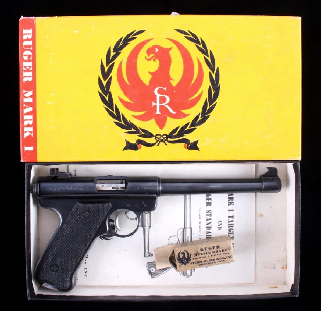 Sturm, Ruger & Co Mark I .22 LR Pistol 1958 - 2