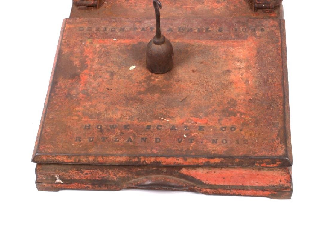 Early Antique Howe Balance Scale Model No 12 - 2