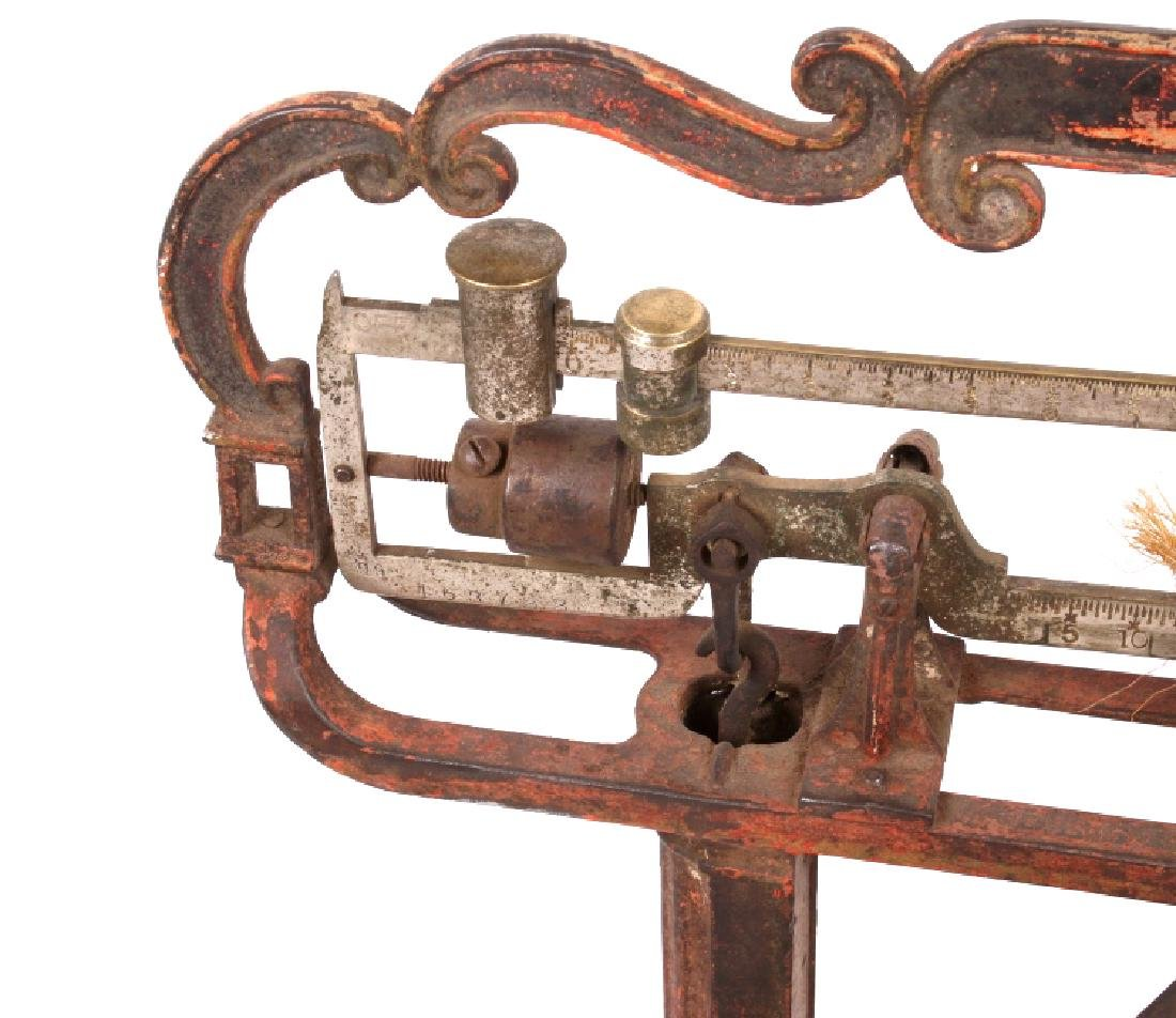 Early Antique Howe Balance Scale Model No 12 - 4