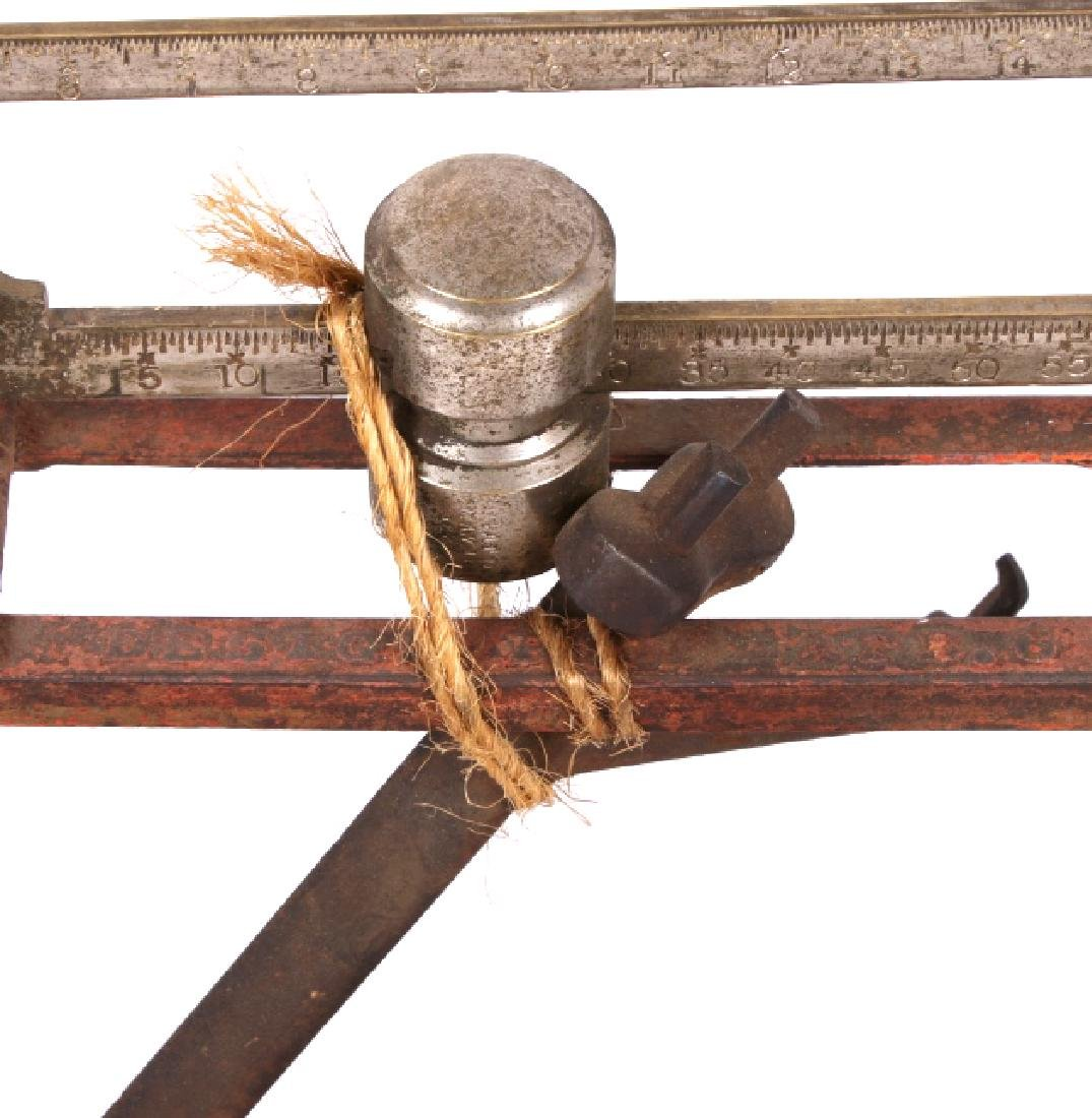 Early Antique Howe Balance Scale Model No 12 - 6