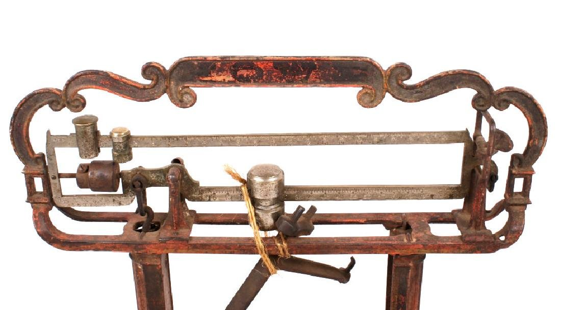Early Antique Howe Balance Scale Model No 12 - 7