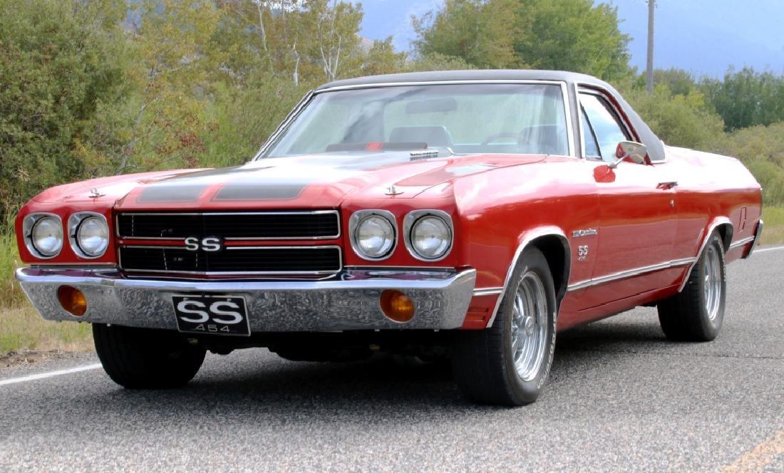 1972 Chevrolet El Camino SS w/ 454 V8 (500HP+) - 2