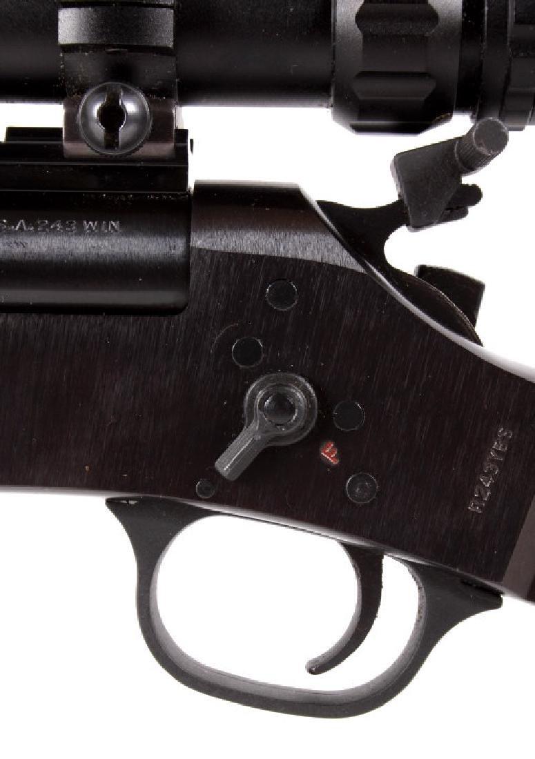 Rossi 243 Win Single Shot Break Action Rifle - 5