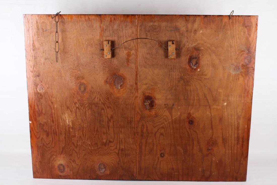 Eagle Maintenance Dept Wood Trade Sign - 7
