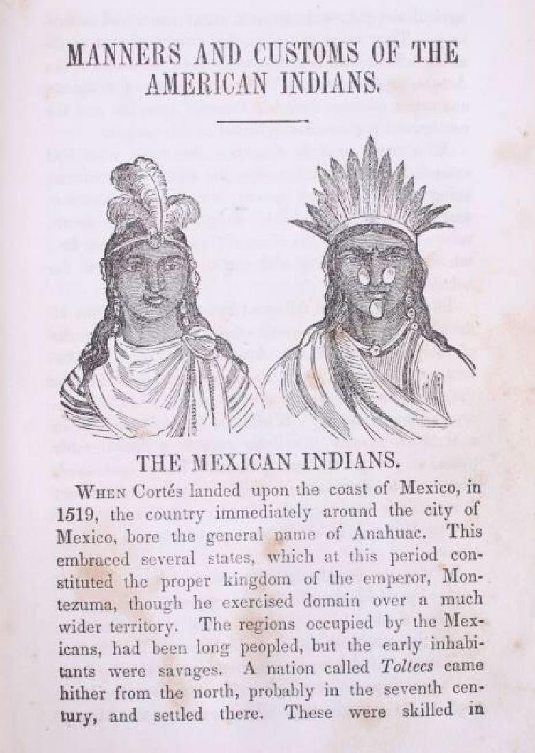 Manners & Customs of the American Indians 1849 - 7