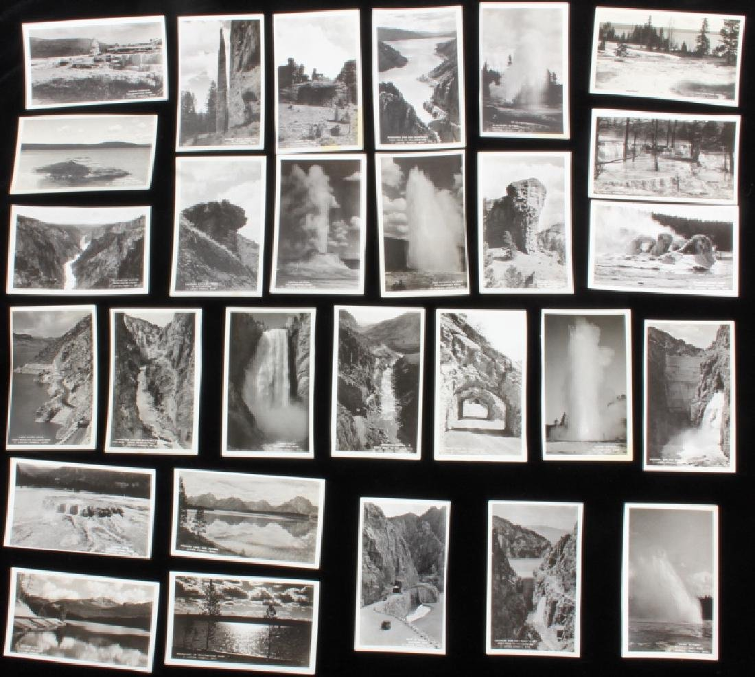 Black and White Photos of Historic Yellowstone