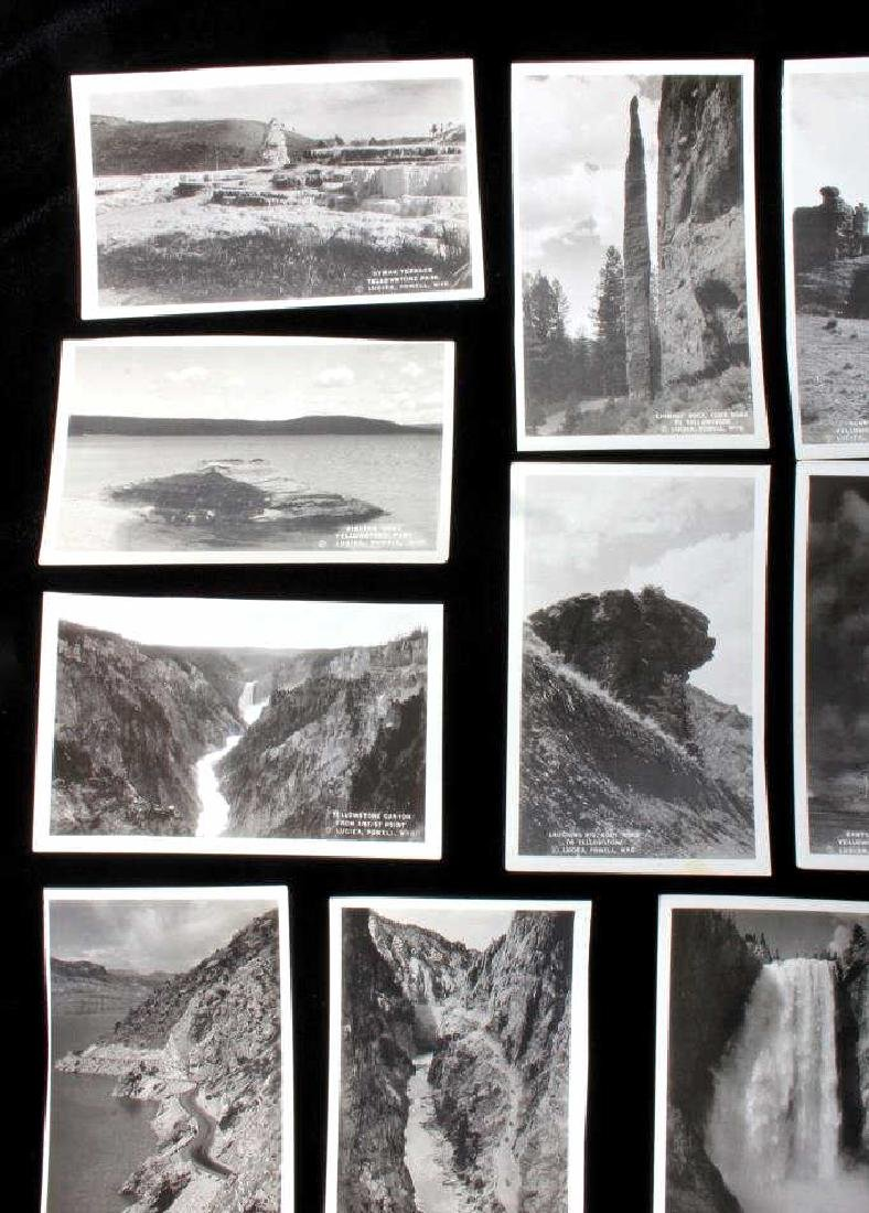 Black and White Photos of Historic Yellowstone - 2