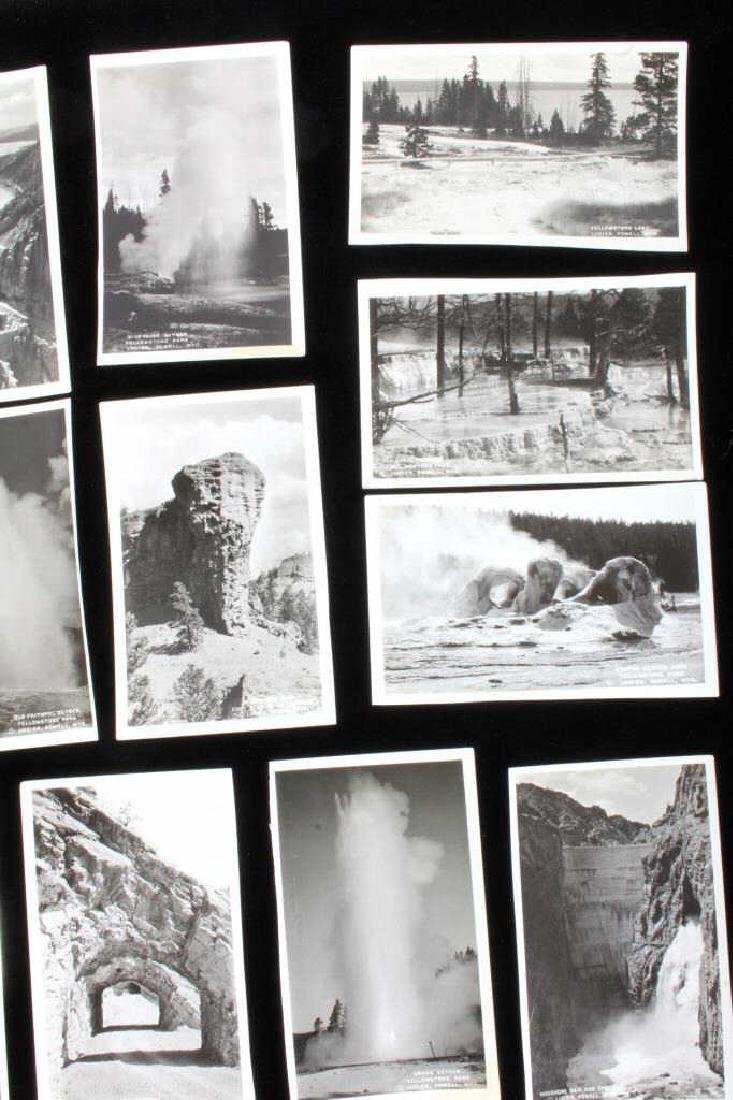 Black and White Photos of Historic Yellowstone - 3