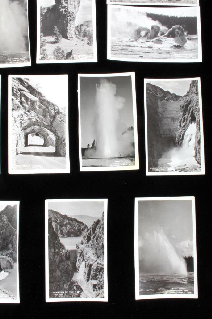 Black and White Photos of Historic Yellowstone - 4