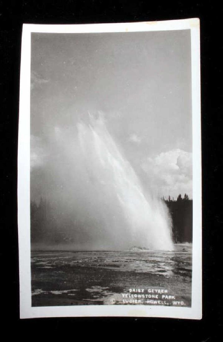 Black and White Photos of Historic Yellowstone - 7