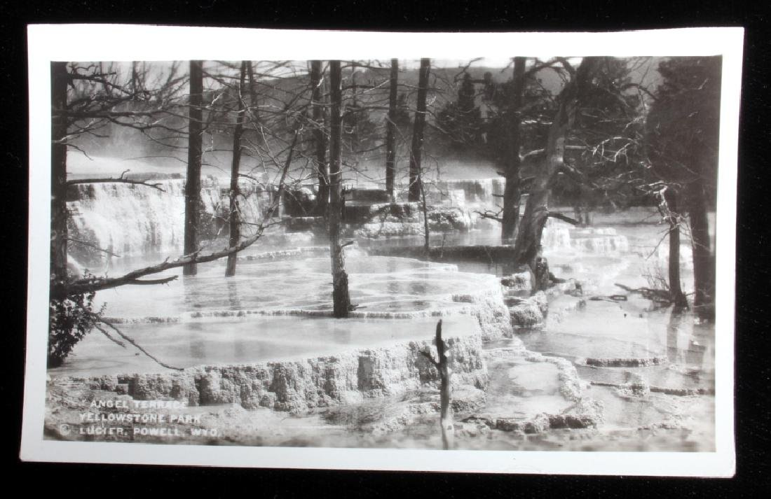 Black and White Photos of Historic Yellowstone - 9