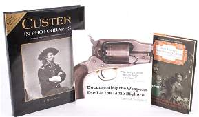 Custer & Little Bighorn Historical Book Collection