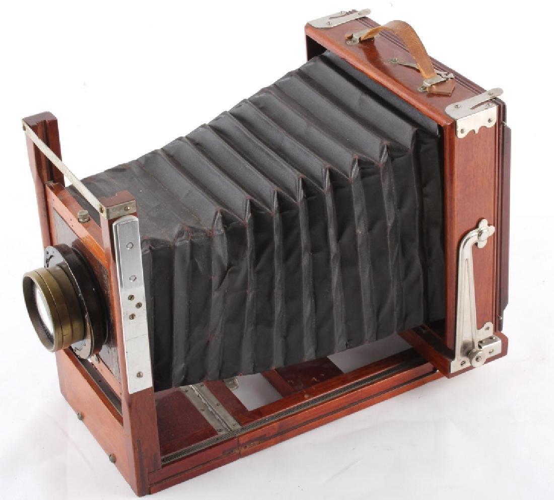 Mahogany Wooden Folding Camera