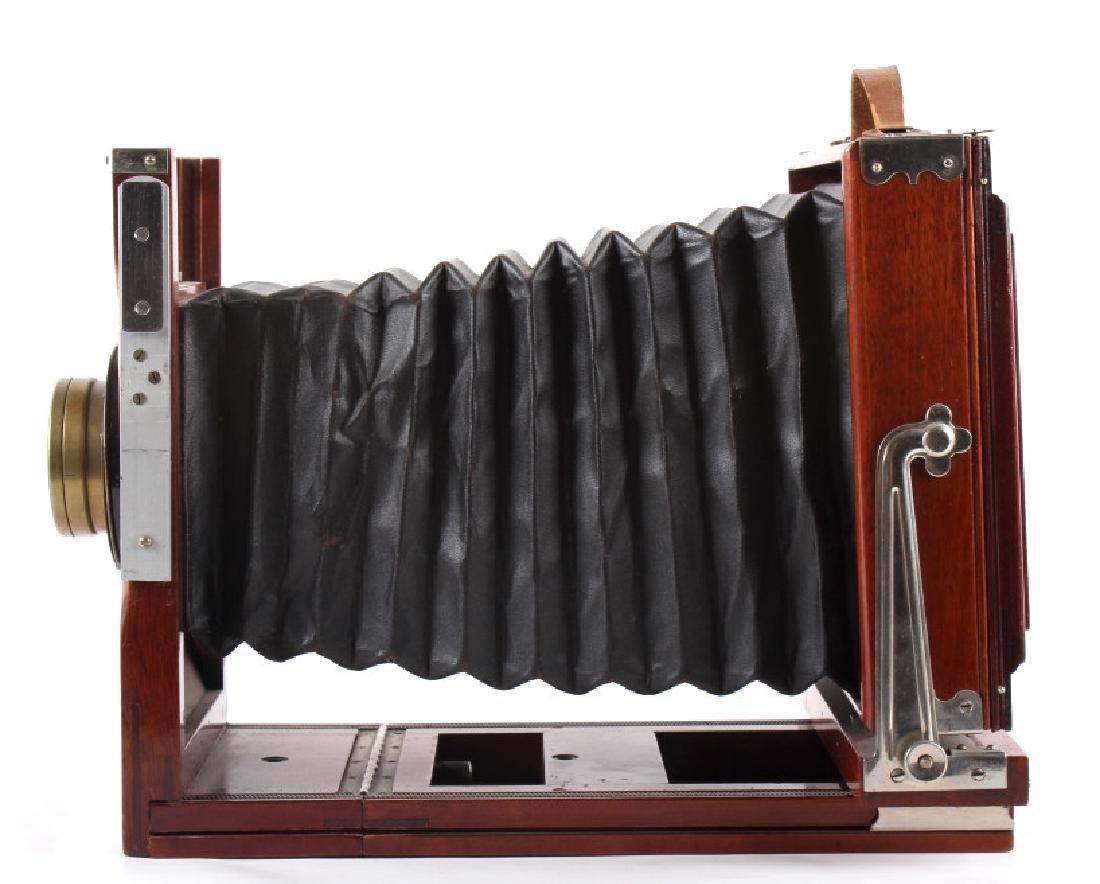 Mahogany Wooden Folding Camera - 2