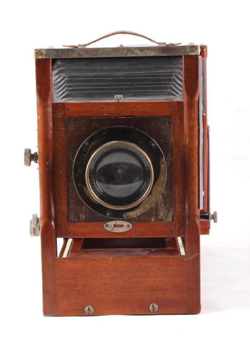Mahogany Wooden Folding Camera - 3