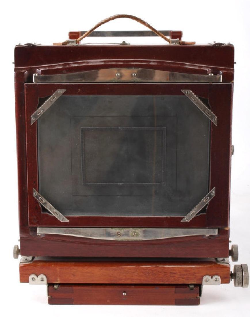 Mahogany Wooden Folding Camera - 4