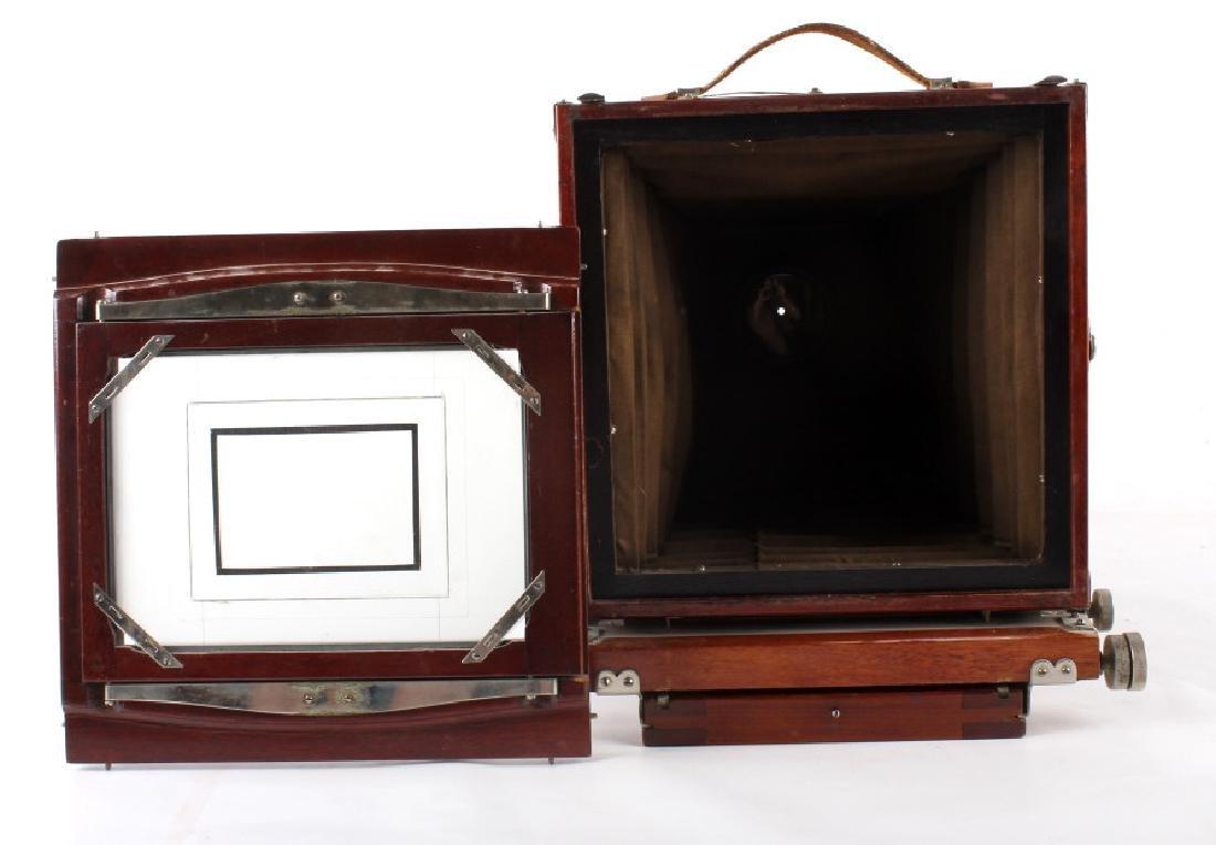 Mahogany Wooden Folding Camera - 5