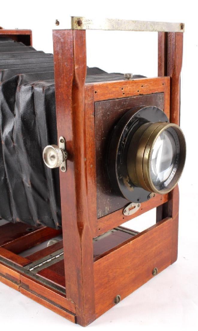 Mahogany Wooden Folding Camera - 6