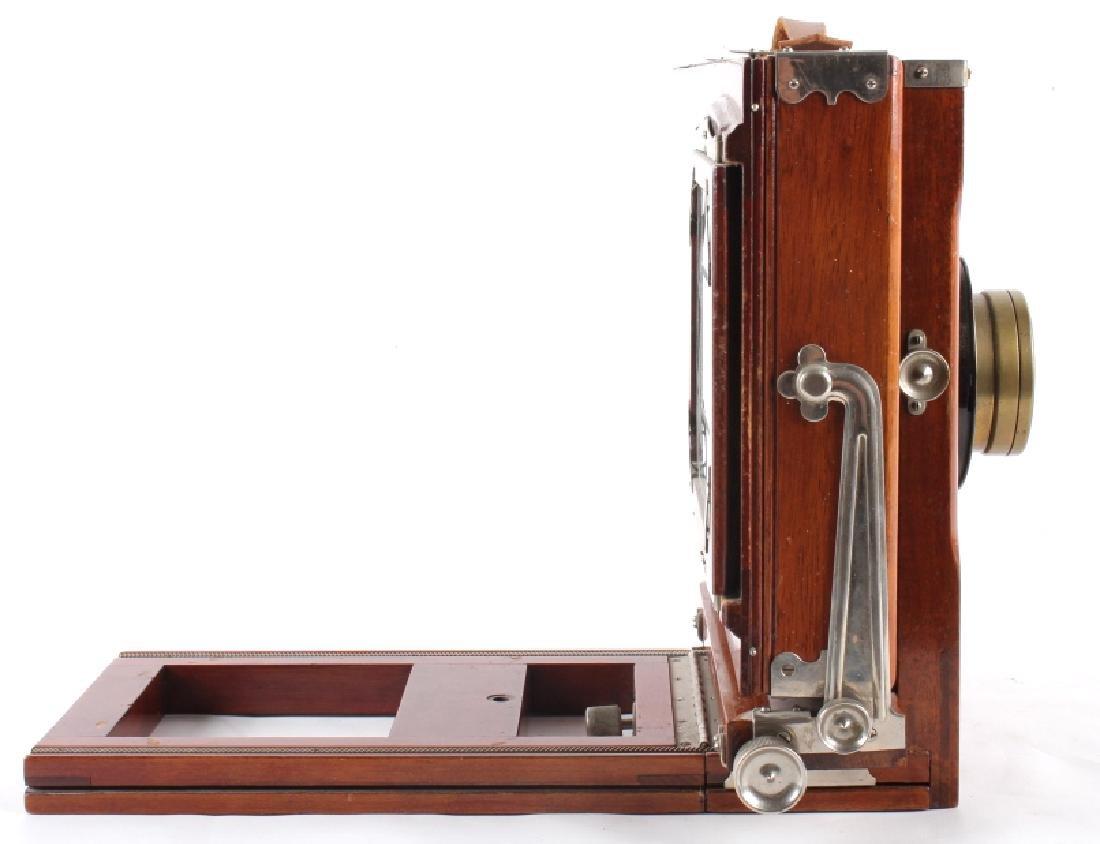 Mahogany Wooden Folding Camera - 7