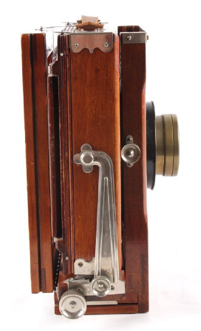 Mahogany Wooden Folding Camera - 8