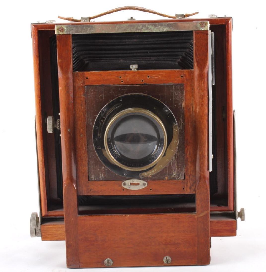 Mahogany Wooden Folding Camera - 9