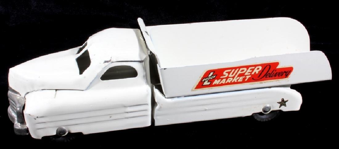 Buddy L Super Market Delivery Pressed Steel Truck