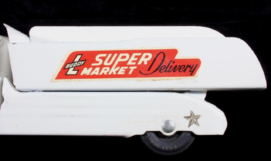 Buddy L Super Market Delivery Pressed Steel Truck - 2